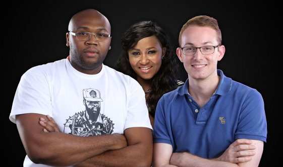 iROKOtv's Jason Njoku, Bastian Gotter and Nollywood superstar Mary Remmy-Njoku have launched SPARK