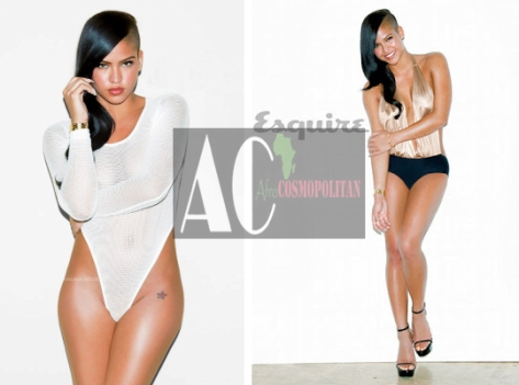 American Singer Cassie gets sexy for Esquire magazine