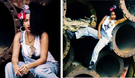 Tonto Dikeh tries new look in new photo shoot