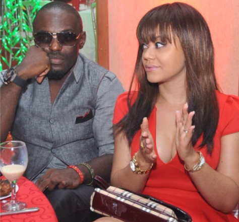 Photo Of Jim Iyke and Nadia Buari at Ovation Red Carol in Ghana