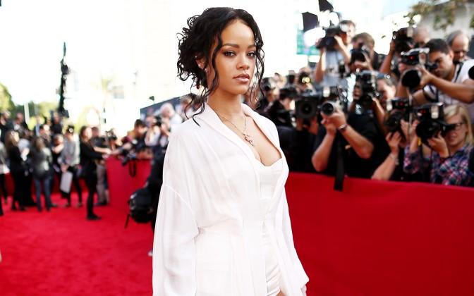 Rihanna At MTV Movie Awards 2014