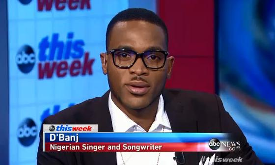 D'banj Talks U.S-African Leaders' Summit On ABC News